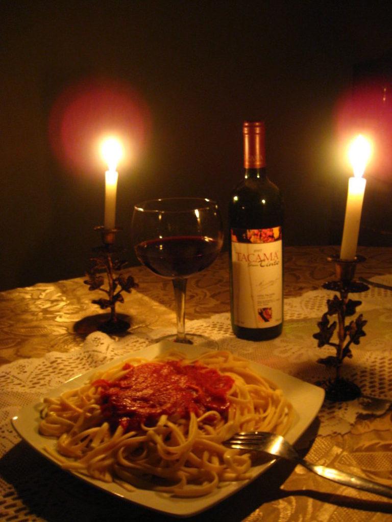 Ideas para cenar en pareja top large size of para una cena romntica en pareja las recetas de - Cena romantica con velas ...